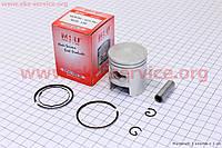 Поршень, кольца, палец к-кт Honda TACT (SA50) +1,00 MSU