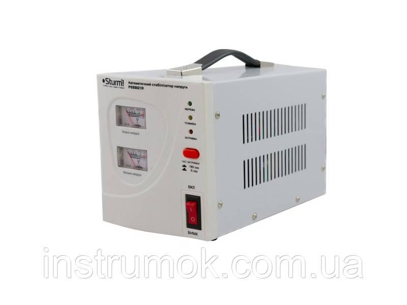 Стабилизатор напряжения релейный Sturm 2000 ВA PS 93021R
