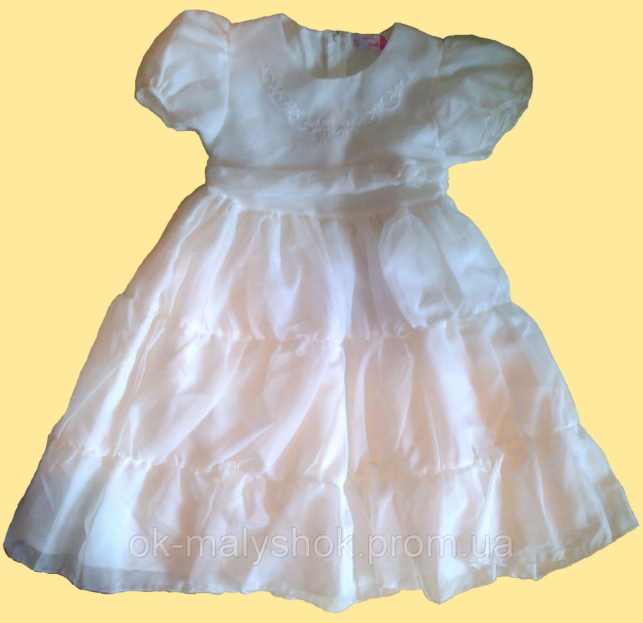 6b9f10335527f96 Платье детское нарядное белое, р. 146: продажа, цена в Киеве. платья ...