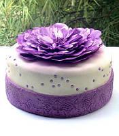 Сахарная мастика для лепки фиолетовая 100 гр