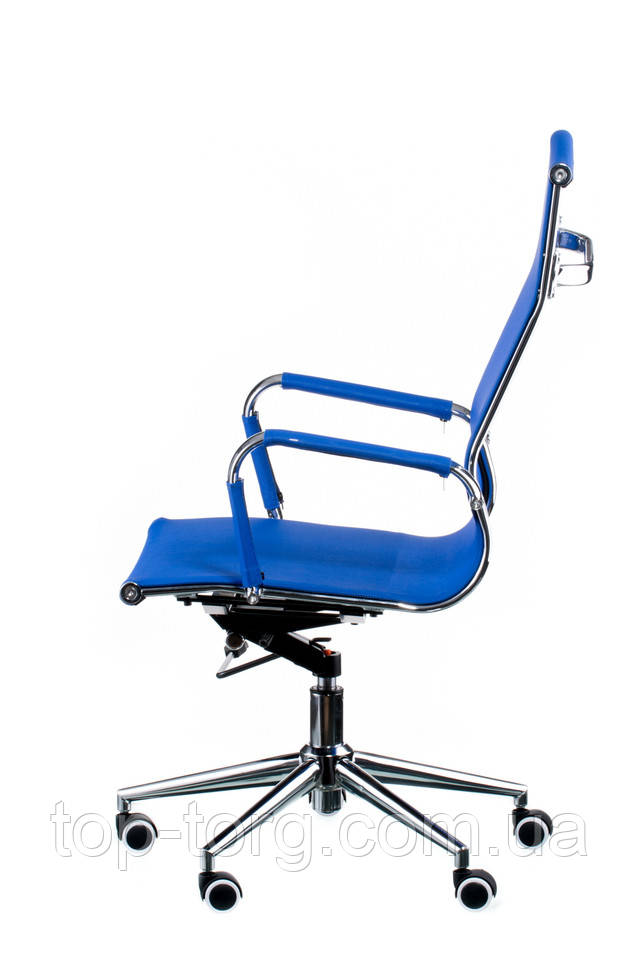 Крісло офісне Solano меѕһ bluе. Slim