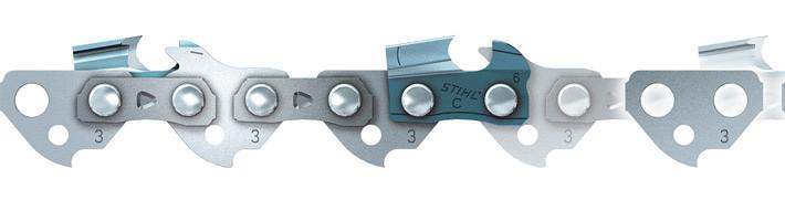 "Ланцюг Stihl 63 PS3 Picco Super 057DL 3/8""P паз 1,3 мм. для шини 40 см. ( 57 ланок, крок 3/8""P, паз 1,3 мм.)"