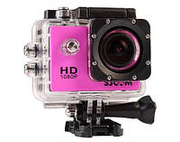 Экшн камера SJCam SJ4000 (розовая)