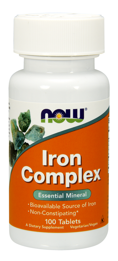 Повышение гемоглобина в крови - Комплекс железа / Iron Complex, 100 таблеток