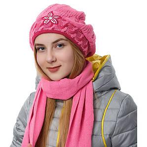 Комплект подростковый шапка + шарф AGBO 60-92