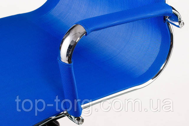 Крісло офісне Solano меѕһ bluе. синій. Slim Net HB