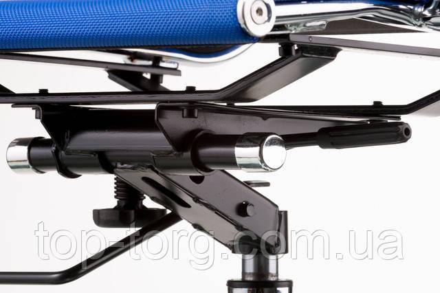 Механізм гойдання. Крісло офісне Solano меѕһ bluе. синій. Slim Net HB