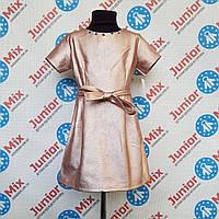 Подростковое платье из кожзама для девочек оптом, фото 1