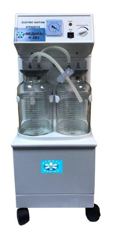 Отсасыватель медицинский электрический Н-001