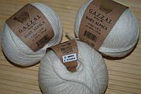 Gazzal Baby Alpaca - 46001 белый