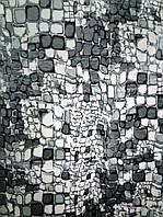 Плед акриловый облегченный True Love Камни серые (180x230)