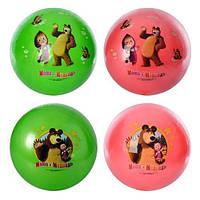 М'яч MM 0011 ММ, 9 дюймів, 2 види, 6 кольорів, 100 г, кул., 12-27-1 см