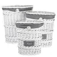 Какие корзины для белья лучше – из пластика или из природных материалов