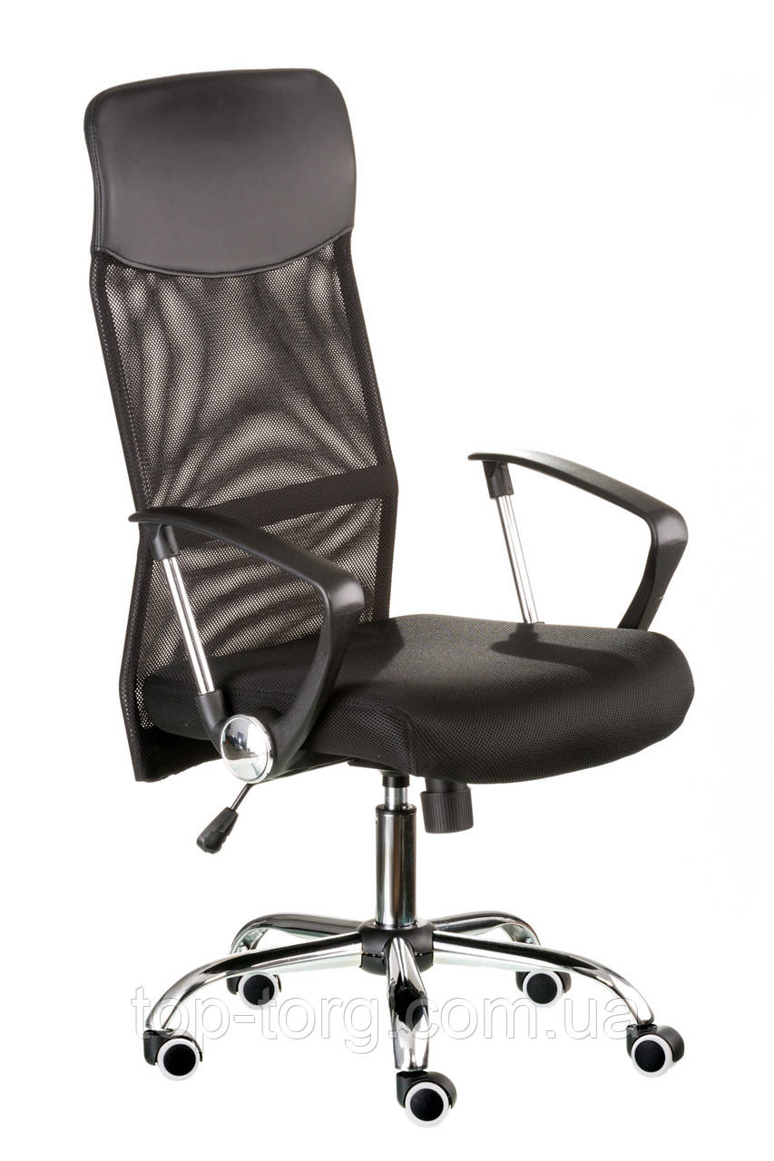 Кресло руководителя Supreme black, черное