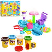 Тесто для лепки типа Плей До (пластилин) с формочками  (Аналог Play-Doh)