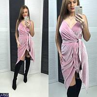 Женское платье с запахом