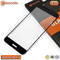 Защитное стекло Mocolo Huawei nova 2 Full cover (Black), фото 1
