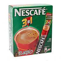 "Кава ""Нескафе"" 3в1 Turbo NEW RECIPE 13г стік (1*20/24)"