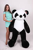 Большая плюшевая ПАНДА размер 200см ТМ TeddyBoom (Украина) черно-белый