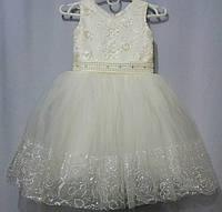 Нарядное платье для девочки 4 5 лет