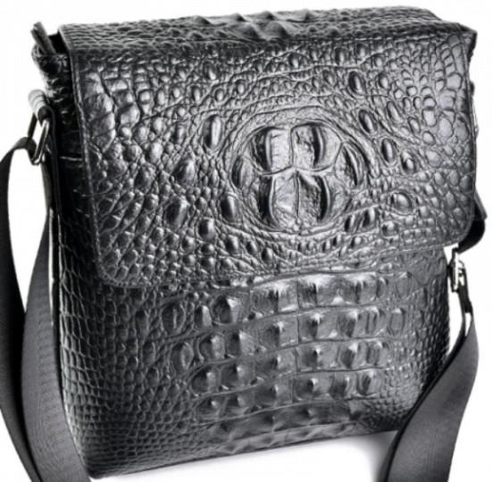 b98e476e02cf Мужская сумка из натуральной кожи чёрного цвета - Интернет-магазин стильных  сумок