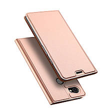 Чехол книжка Dux Ducis Skin Pro для Google Pixel 2 XL розовое золото