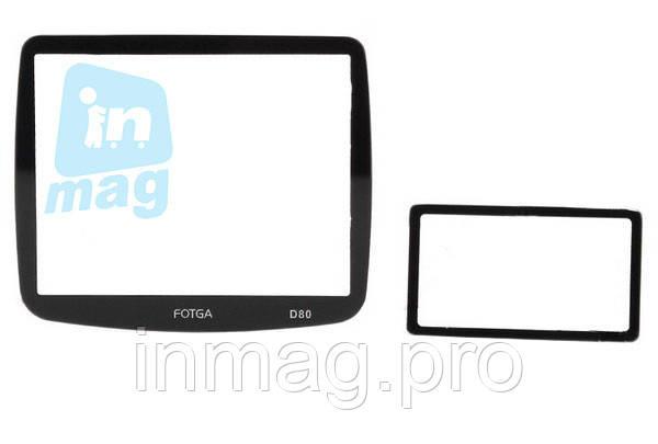 Защитный экран Fotga для фотоаппарата Nikon D80 (twin)