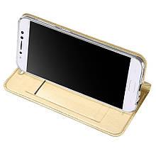 Чехол книжка DUX DUCIS Skin Pro для Asus Zenfone 4 Selfie Pro ZD552KL золотистый