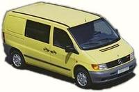 Аэродинамические обвесы Mercedes Vito W638