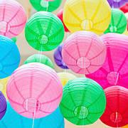 Бумажные подвесные шары плиссе