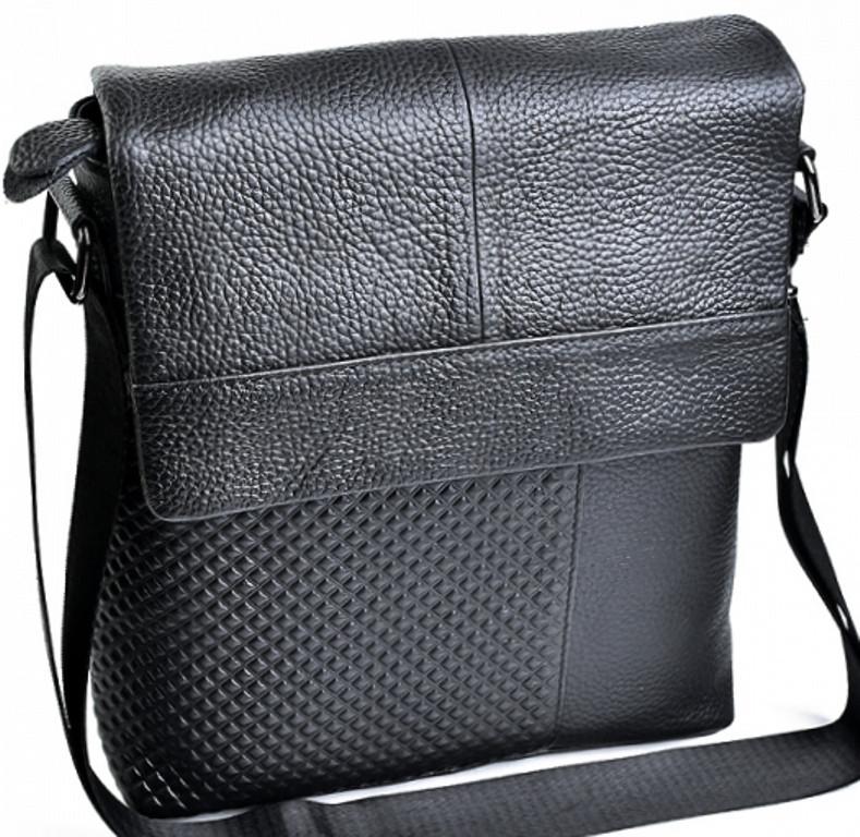 84d14fb355a1 Мужская сумка из натуральной кожи чёрного цвета : продажа, цена в ...