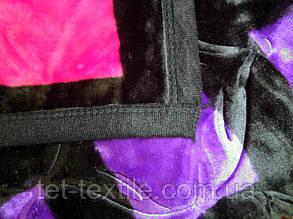 Плед акриловый Elway с тиснением Цветные квадраты (200x240), фото 2