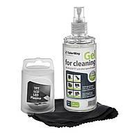 Набор чистящий ColorWay 2в1, для TFT/LCD: гель 150 мл + салфетка из микрофибры (CW-5151)