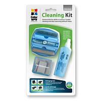 Набор чистящий ColorWay 5в1, для TFT/LCD: щетка с жидкостью, салфетки, жидкость (CW-4132)