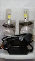 LED Лампы KIT  F8  H1 12-24 V  CIP  COB радиатор Н1 COB 6000 K F8  R