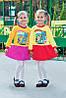 Тепленькое платье на девочку Иванна (86, 98, 110 см)