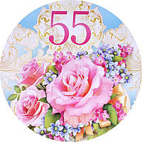 Вафельная картинка с днем рождения 6588