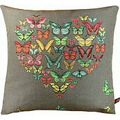 "Подушка гобеленовая ""Бабочки"", Франция"