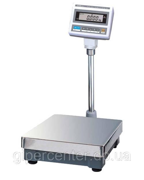 Весы товарные CAS DB II-30/60E до 60 кг со стойкой