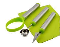 Набір для карвінгу, ножі для фруктів, 3 предмета