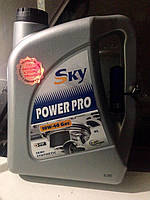 Масло sky pover pro10w-40 Gas 4л