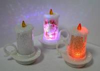 Сувенир Свеча светящаяся LED, 869, 7 х 3см