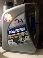 Масло sky pover pro10w-40 diesel 4 л