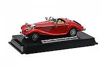 Автомобиль Same Toy Vintage Car со светом и звуком Красный, ретро автомобиль, металлическая машинка,машинка де