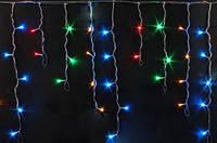 "Гирлянда светодиодная ""Бахрома"" L120 мультицвет 3м 30 см"