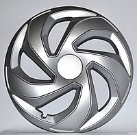Колпаки R14 на диски R14 серые Silver колпак K0347