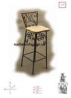 Кованные барные стулья