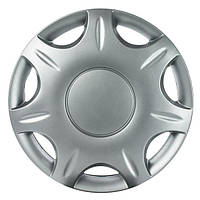 Колпаки на колеса R13 серые Silver колпак K0335