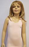 """Майка детская для девочек """"Блестящие"""" ТМ Baykar, Турция оптом р.5 (146-152 см) , фото 3"""