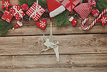 Новогодняя игрушка на елку волшебная фея